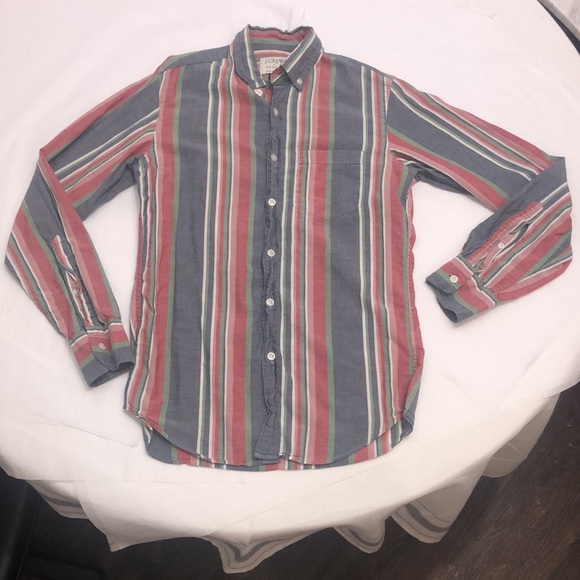 3 FOR $20 J. Crew Madras Button Down XS